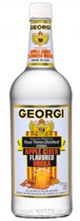 Georgi Vodka Apple Cider 750ml - Case of 12